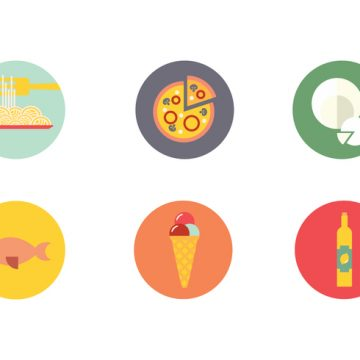 Free vector Napoli Food Drink Icon Vector #19628