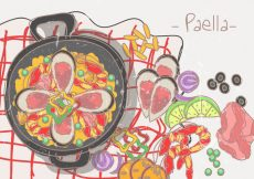 Free vector Paella Spanish Food #20314