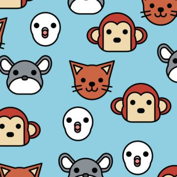 Free vector Pattern of Animals #22270
