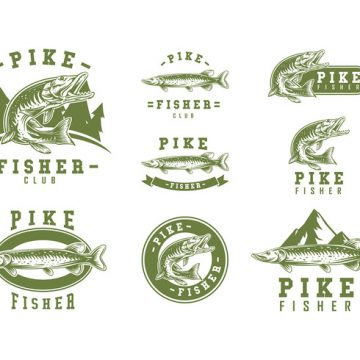 Free vector Pike Logo Vector #22352
