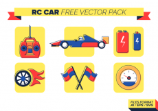 Free vector Rc Car Free Vector Pack #19056