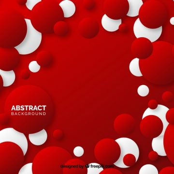 Free vector Red background of circles  #19409