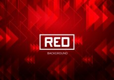 Free vector Red background with triangles #21500