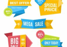 Free vector Sale banners pack #19368
