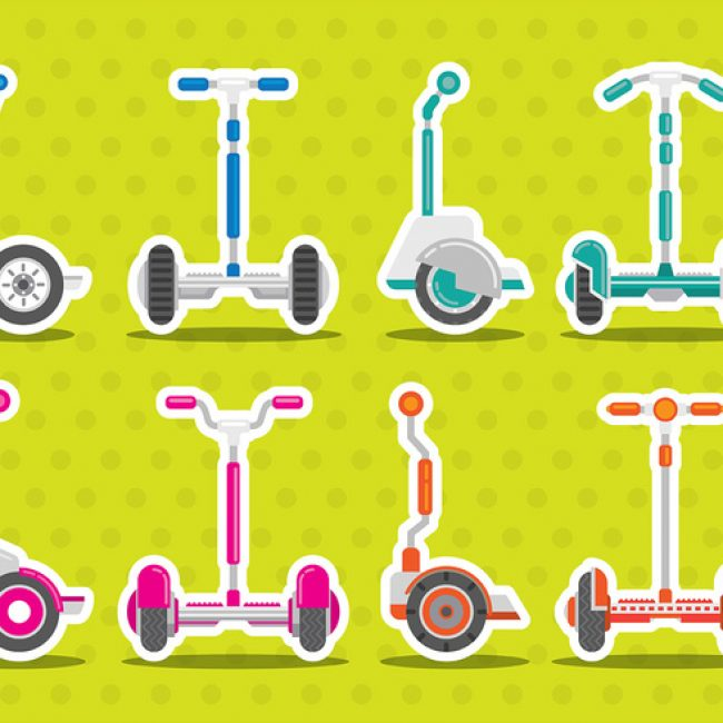 Free vector Segway Vector Icons #21457