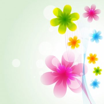 Free vector Shiny floral background #22072