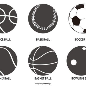 Free vector Sport Ball Shapes Collection #23042