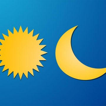 Free vector Sun And Moon Vector Elements #21325