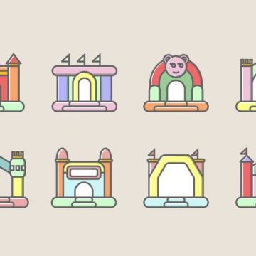 Free vector Bounce House Icon #22448