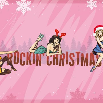 Free vector Free Christmas Background Illustration with Hand Drawn Characters #22722