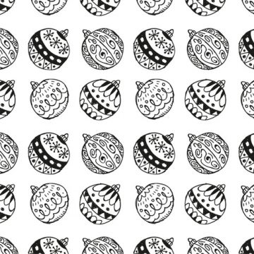 Free vector Free Christmas Hand Drawn Pattern Background #22636
