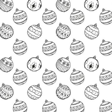 Free vector Free Christmas Hand Drawn Pattern Background #22634