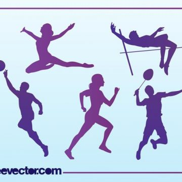 Free vector Free Sport Silhouettes #23122