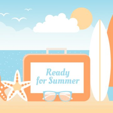 Free vector Free Summer Beach Elements Background #20654