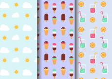 Free vector Free Summer Holiday Pattern #20666