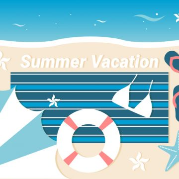 Free vector Free Summer Traveling Template Background #20604