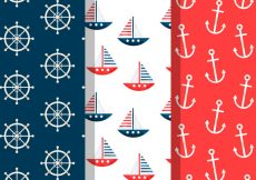 Free vector Free Vintage Summer Holiday Patterns #21487