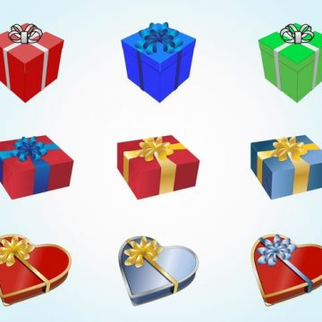 Free vector Holiday Presents #20848