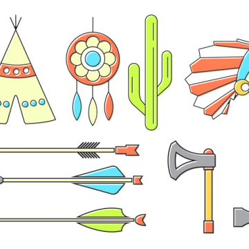 Free vector Vector Set of Indian Icons #21375