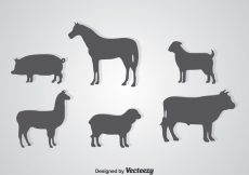 Free vector Silhouette Animals #22252