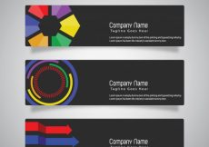 Free vector Web banner collection #22723