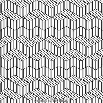 Free vector Black And White Line Pattern #24424