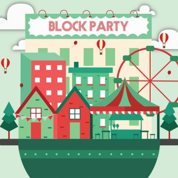 Free vector Block Party Vector Art #23651