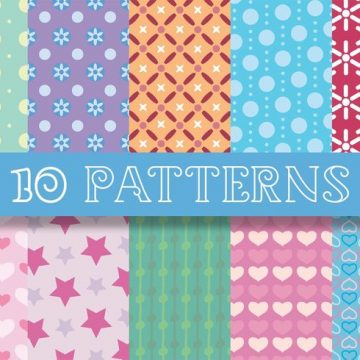 Free vector Chic Patterns #24223