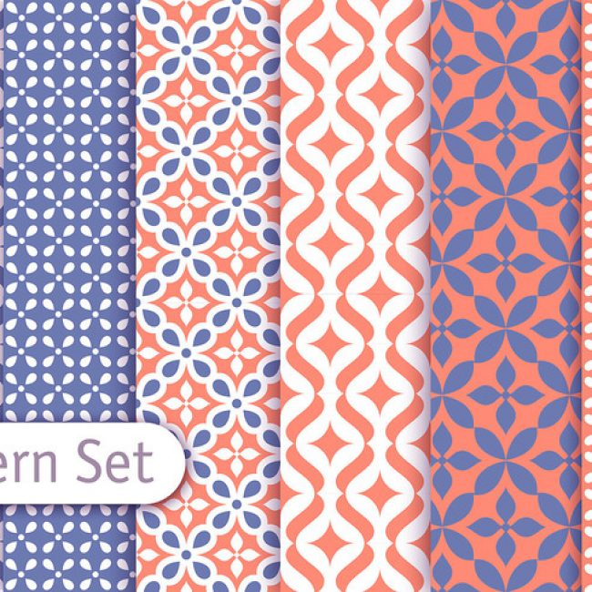 Free vector Colorful Arabic Pattern Set #24269