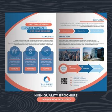 Free vector Creative business brochure #24190