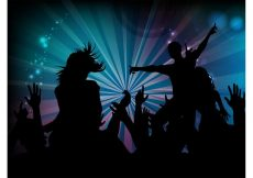Free vector Dance Party Graphics #23755