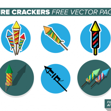 Free vector Fire Crackers Free Vector Pack #23689