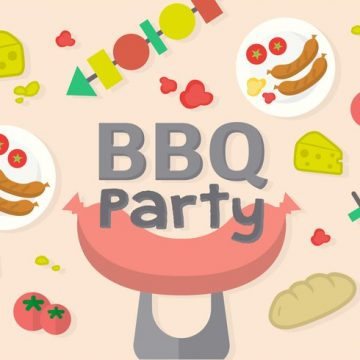 Free vector Free Barbecue Party Vector #23433