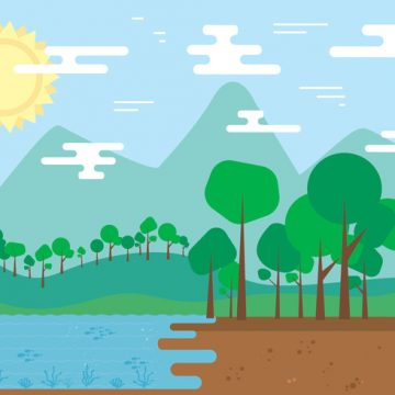 Free vector Free Nature Landscape Vector #23779