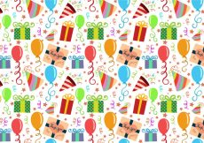 Free vector Free Party Pattern Vectors #23373