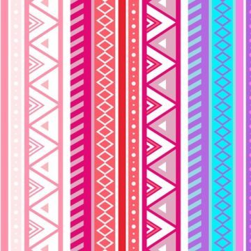 Free vector Free Pink Aztec Geometric Seamless Vector Pattern #24404