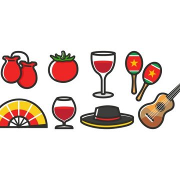 Free vector Free Spain Icons #23483
