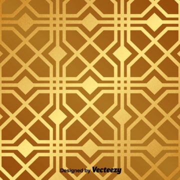 Free vector Golden Vector Pattern #24155