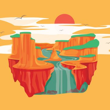 Free vector Grand Canyon Vector #24007