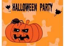 Free vector Halloween Party Flyer #23761