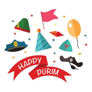 Free vector Happy Purim Vectors #23539