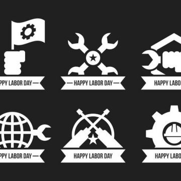 Free vector Labor Day Vector Icons #23665