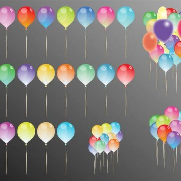 Free vector Party Balloons #23585