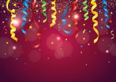 Free vector Red Party Popper Background #23335