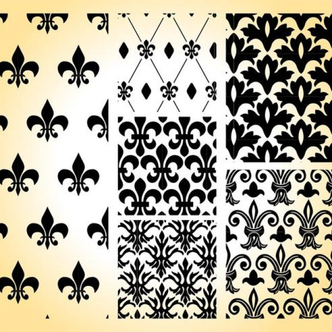 Free vector Royal Patterns #24328