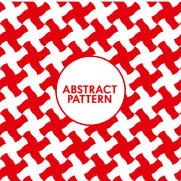 Free vector Seamless Abstract Red Pattern #24199