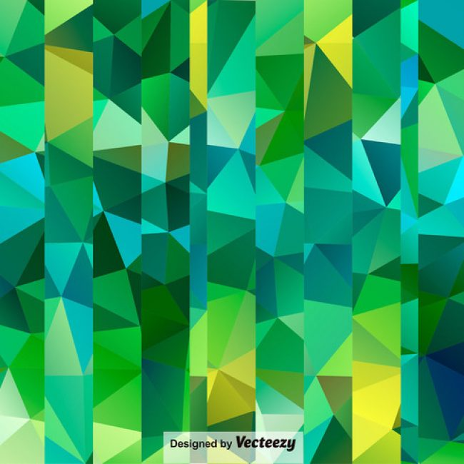 Free vector Seamless Polygonal Green Pattern #24398