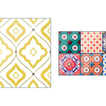 Free vector Spanish Talavera Pattern Vectors #24300