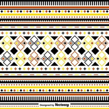 Free vector Stylish Folk Pattern Ornaments #24302