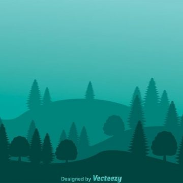 Free vector Mountain Forest Hills Background #23859